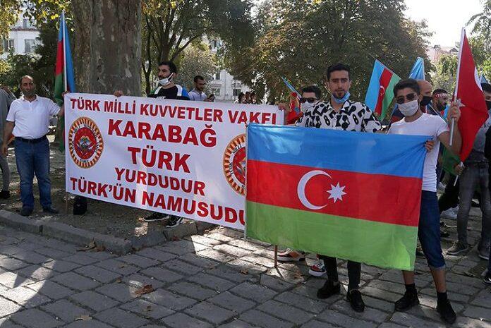 Azerbaycan'a Destek Mitingi